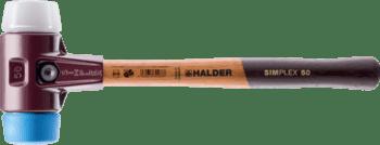 Maillets SIMPLEX TPE souple / superplastique; avec boîtier en fonte malléable et manche en bois  IM0008935 Foto ArtGrp