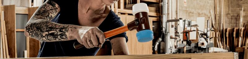 SIMPLEX soft-face mallets, cast iron housing, 50:40  IM0013195 Foto Banner