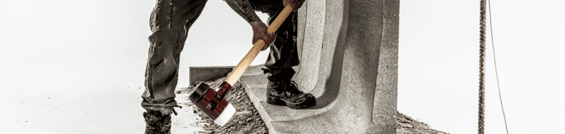 SIMPLEX sledge hammers, cast iron housing  IM0013206 Foto Banner