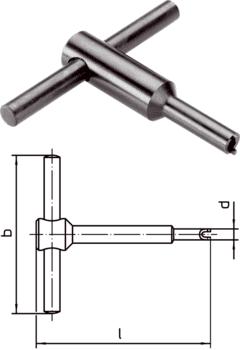 outil de montage pour fente de vis (coté embout) pour poussoirs à bille  IM0012914 Foto
