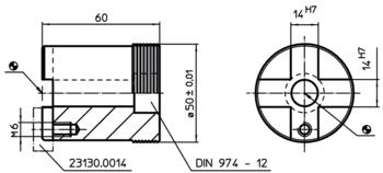 Stops cylindrical  IM0000993 Zeichnung
