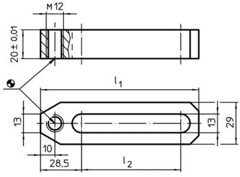 Support Clamping Bars  IM0000995 Zeichnung