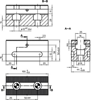 Vis de fixation pour tasseaux de bridage multiple  IM0006586 Zeichnung