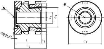 Assembly Tool for height adjusting element  IM0000853 Zeichnung en