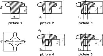 Palm Grips DIN 6335 light metal  IM0001109 Zeichnung en