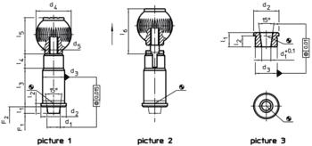 Socket with tapered pin  IM0002981 Zeichnung en