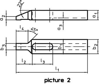 Clamps with nose  IM0010328 Zeichnung en