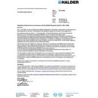 REACH - Regulation (EG) Nr. 1907/2006